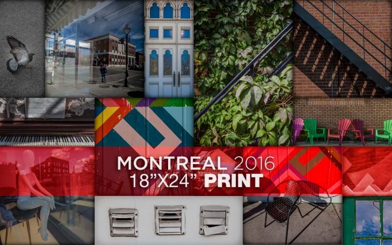Montreal 2016 - Poster Print